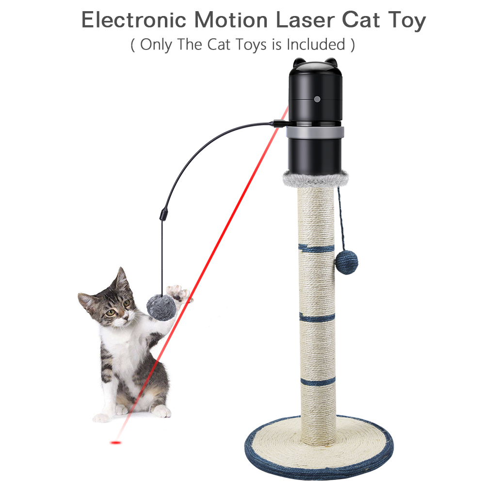 Scratching Post Toy Topper with Laser 2