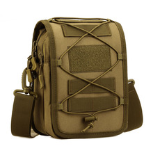 Top Quality New Men Durable 1000D Nylon Military Travel Assault Molle Crossbody