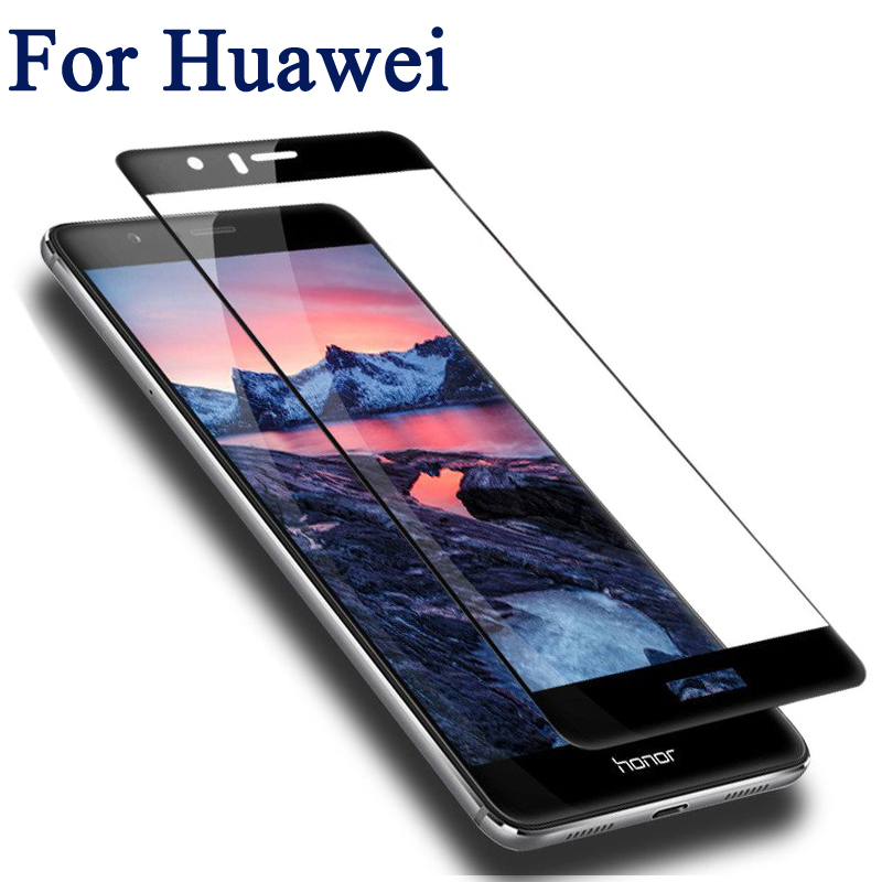 Screen Protector Full Cover Tempered Glass For Huawei P10