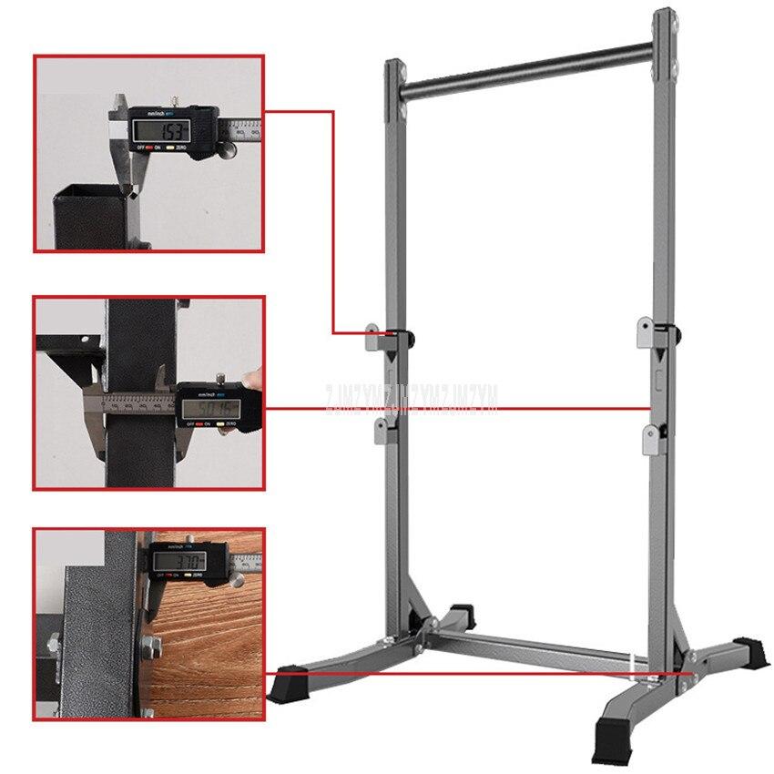 Exercício exercício queixo para cima puxar de cabeça para baixo piso barra horizontal estável interior esporte equipamentos de fitness ginásio equipamentos de exercício - 4