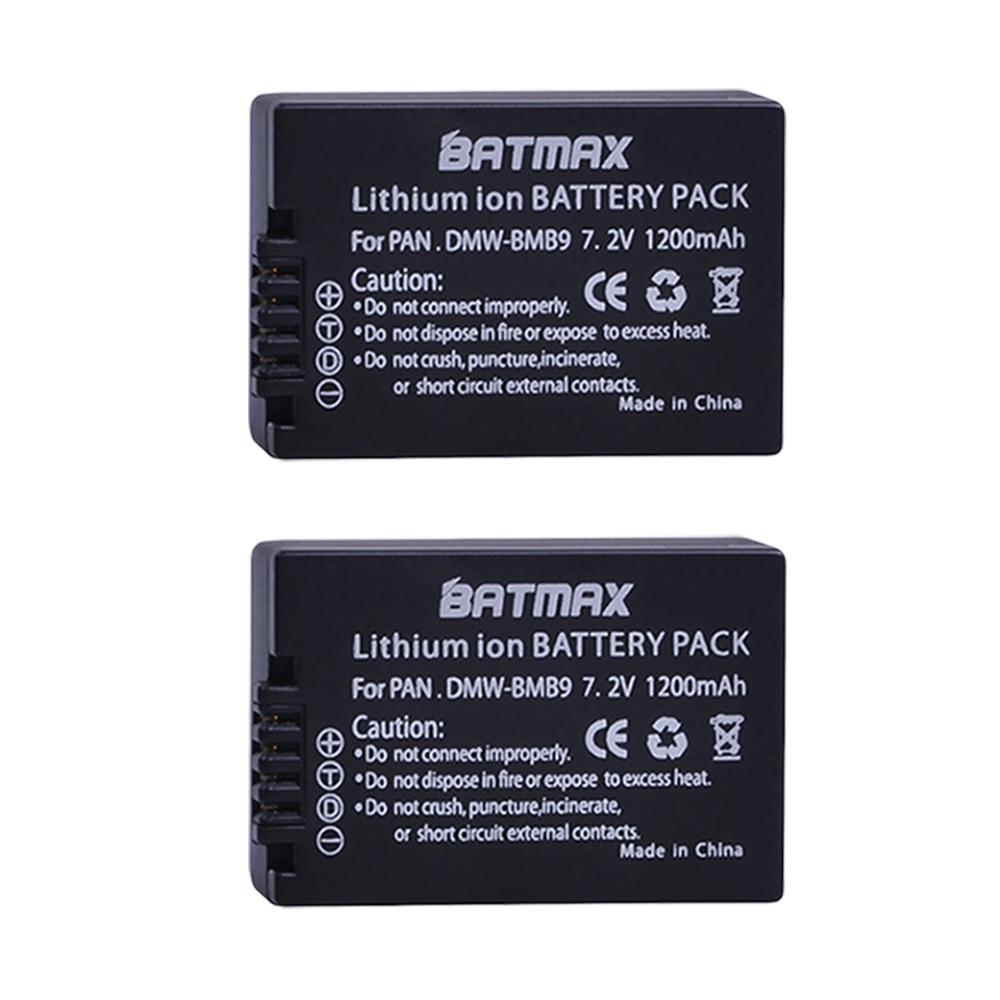 2Pcs DMW-BMB9 DMW-BMB9E DMW BMB9 BMB9E DMWBMB9 Battery for Panasonic Lumix DMC-FZ40K,FZ45K, FZ47K,FZ48K,FZ60,FZ70,FZ100,FZ150 моё солнышко бальзам после укусов насекомых моё солнышко
