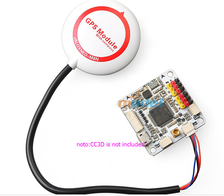 Mini Ublox NEO-M8N GPS Module Built-in Compass with Shell & Folding Support for CC3D SP Racing F3 Flight Controller f18471 m8n gps compass module for naza m v2 lite flight controller board