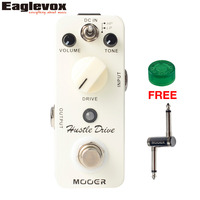 MOOER Hustle Drive Distortion Electric Guitar Effects Pedal Micro Series Pedal True Bypass