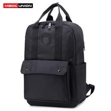 MAGIC UNION Classic Students Fashion Backpack Mochila Feminina Mujer Women Men Unisex Travel School Bags Bolsa Escolar Bagpack все цены