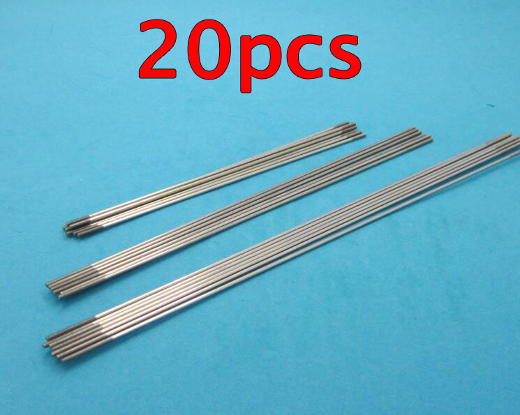 Free Shipping 20pcs M2 RC model boat servo steering pull rod metal push rods with thread at both end Length 150/200/250/300mm jx pdi 5521mg 20kg high torque metal gear digital servo for rc model