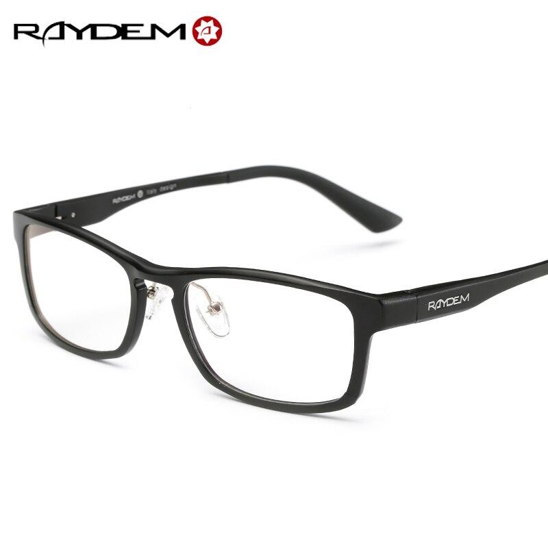 raydem aluminum retro unisex metal points womens eye glasses frame brand optical uv protection vintage female eyeglasses 6058