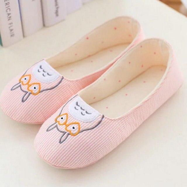 Cute Totoro Women Slippers For Indoor Bedroom