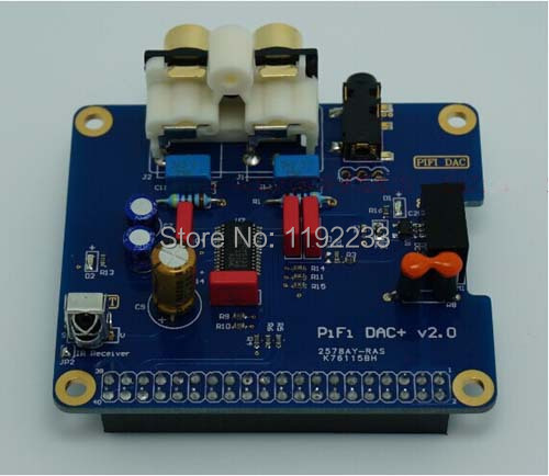 2pcs/lot I2S Interface Special HIFI DAC+ Sound Card Module For Raspberry PI B+/2B/3B