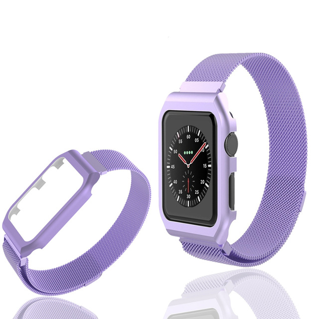 Milanese Loop strap For Apple Watch band case 42mm 38mm