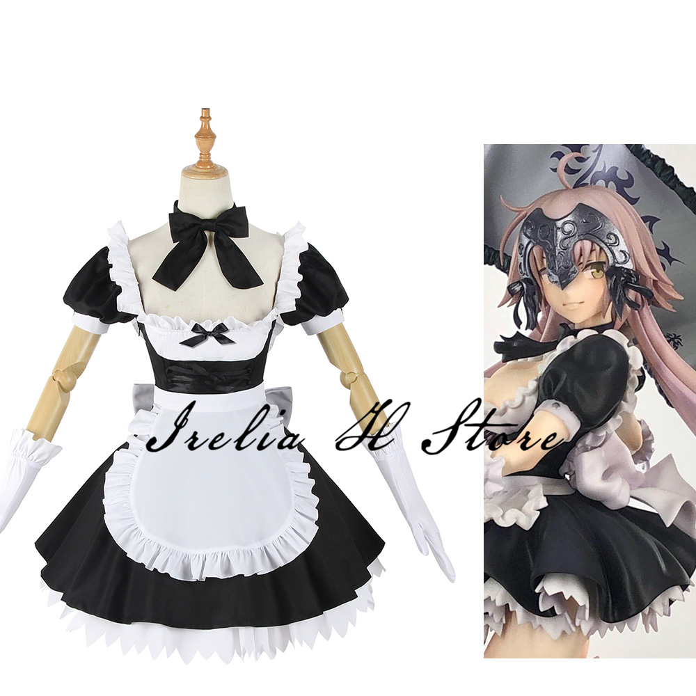 Maiden Alter FGO Cosplay Fate/Grand Order Jeanne d'Arc maid dress Cosplay Costume GK Figure Costume 1