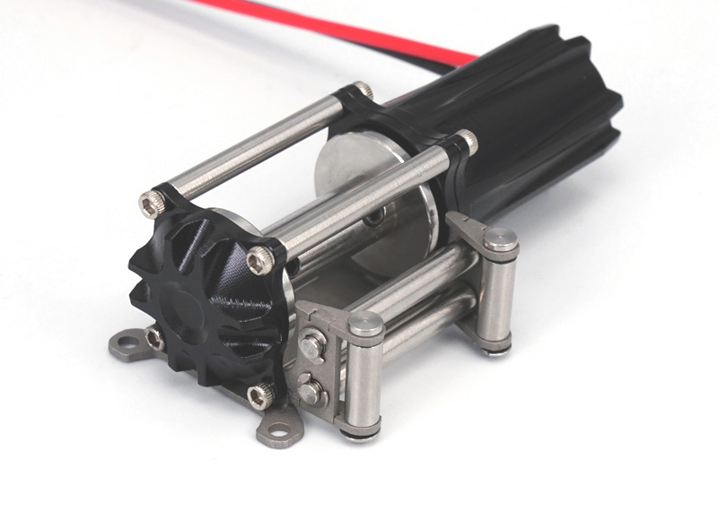 цена на 1PC LS-A0012 Electric Winch Metal Mini Crane/Self-rescue Car Winch for Remote Control RC Cars DIY Modification Parts
