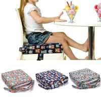 Crianças aumentou a almofada da cadeira de jantar do bebê almofada ajustável removível highchair cadeira do impulsionador almofada do assento cadeira para cuidados com o bebê