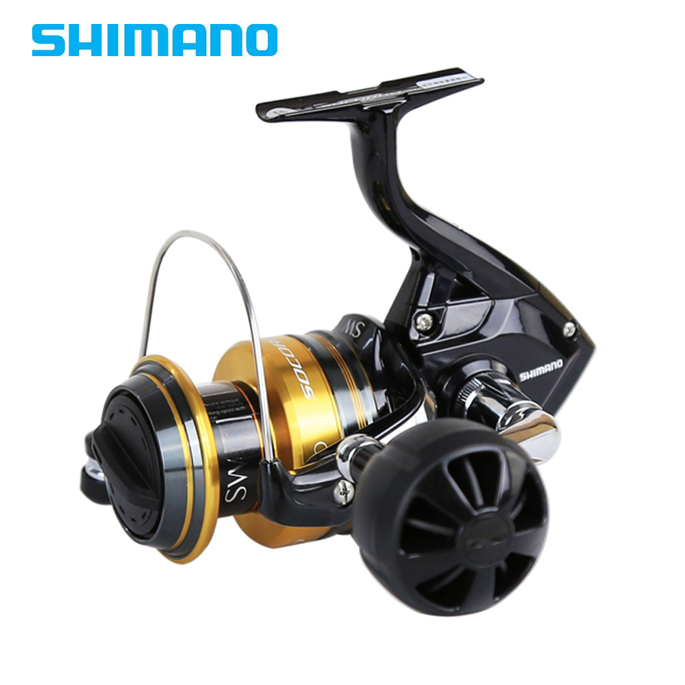 Shimano Original SOCORRO SW 5000 10000 Big Saltwater Spinning Reel 4 1BB 4 9 1 X