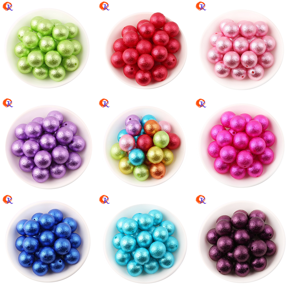 Выберите Цвет Cordial Дизайн Модный бисер 100 шт./лот 20 мм Коренастый Bubblegum морщин Бусы из жемчуга ABS жемчуг для DIY Браслеты ...