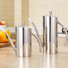 500ml / 700ml Stainless Steel Oil Can Vinegar Pot Bottle Oil Dispenser  Edible Oil Container Cruet Pot Kitchen Tools