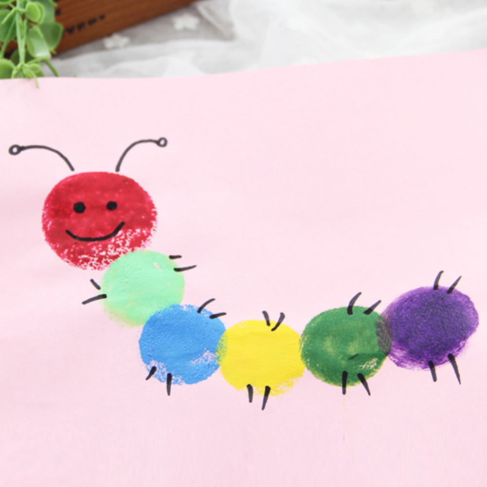 4pclot-Graffiti-Paint-Coloring-Pages-for-Children-Wooden-Yellow-Sponge-Doodle-Brush-DIY-Painting-Toy-Xmas-Gift-1