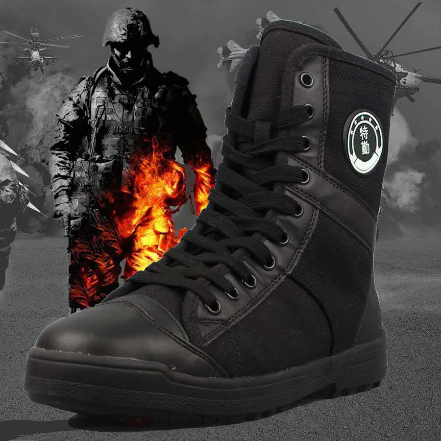 Men women outdoor tactical military cambot tall boot canvas shoes mountain hiking trek Light Desert High Tube Lace-up sneakers men s outdoor hunting hiking mountain non slip lace up mesh breathable ankle high boots tactical army desert sport shoes boot