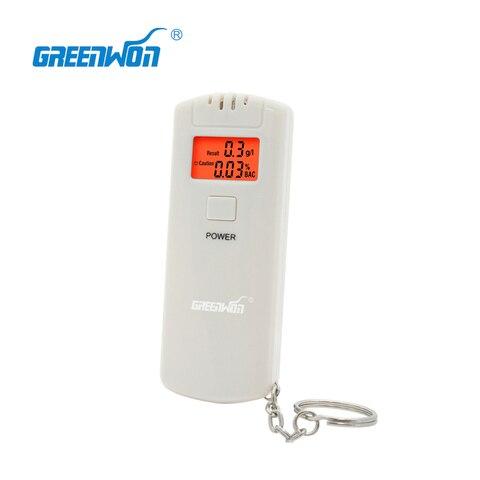 5 pcs greenwonhot venda 5 pcs lote teste de respiracao lcd digital alcohol tester respiracao
