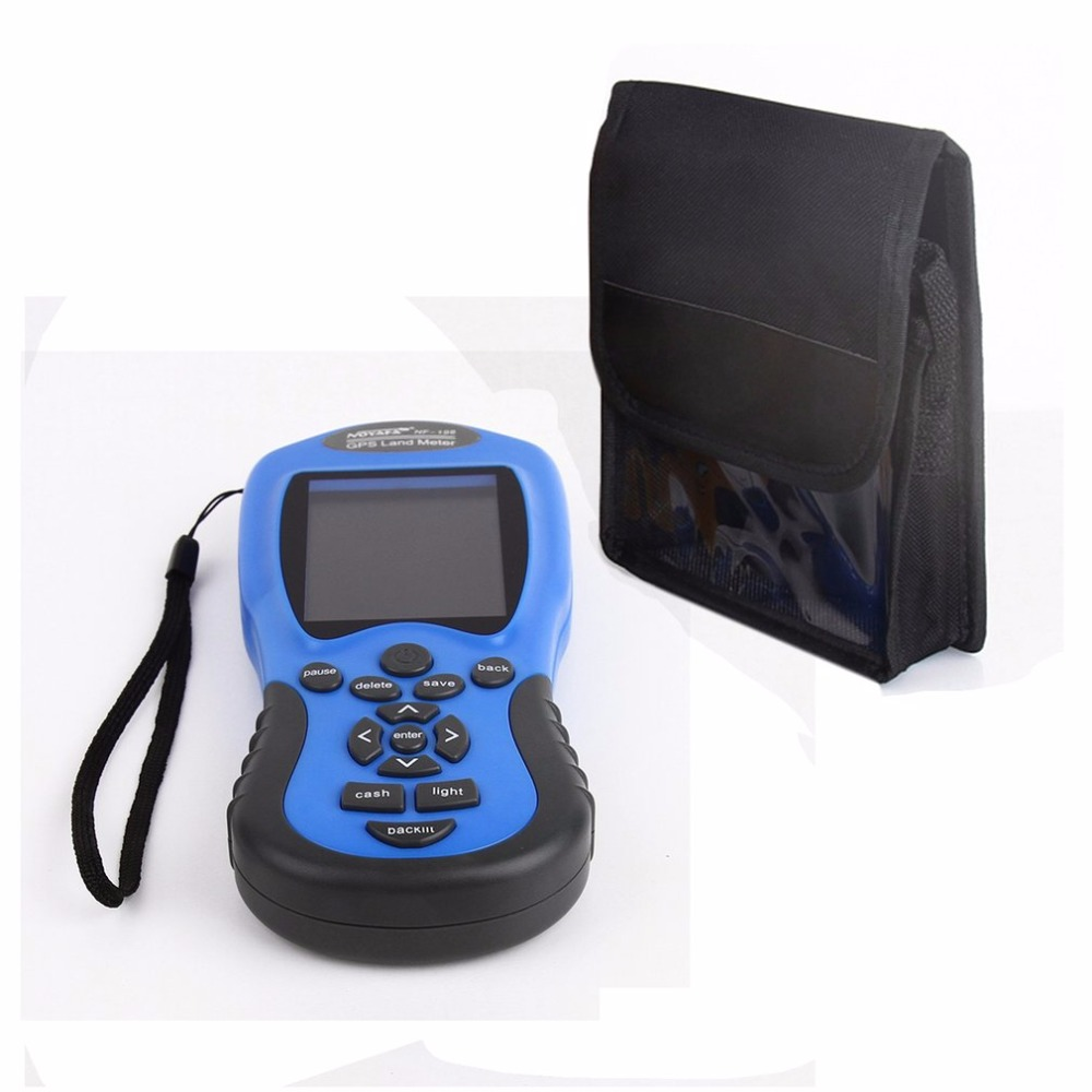 NF-198 GPS Test Devices GPS Land Meter LCD Display Measuring Value Figure Farm Land Surveying And Mapping Area Measurement gps survey equipment use for farm land surveying and mapping area measurement display measuring value figure track noyafa nf 198