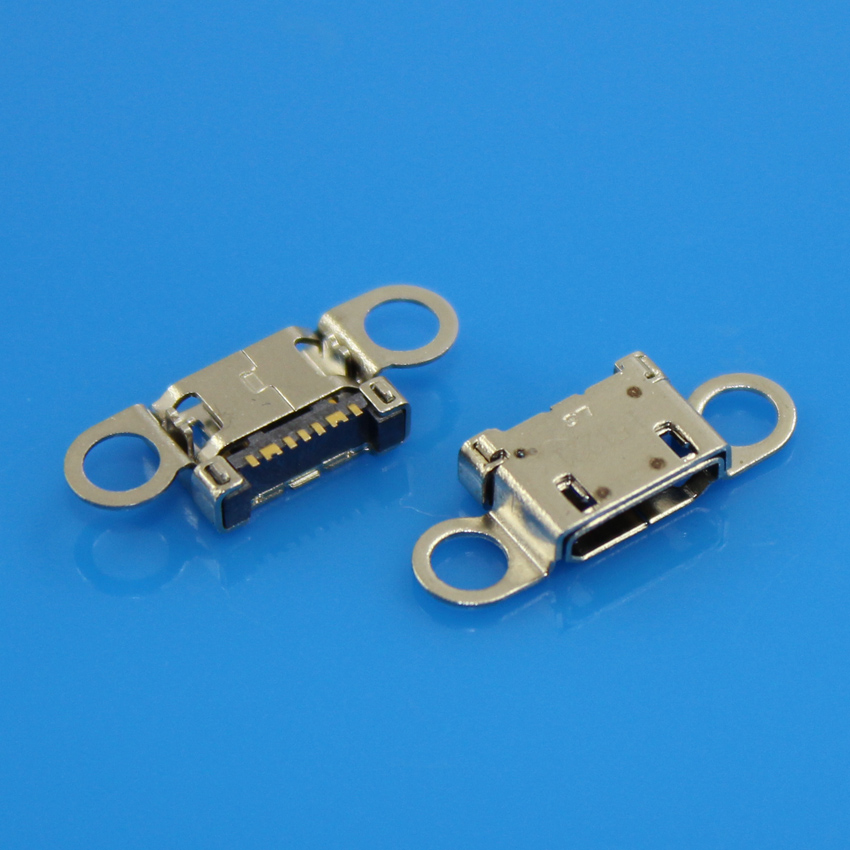 Lot 5 pcs Micro USB Charging Port Connector For <font><b>Samsung</b></font> <font><b>S6</b></font> <font><b>S6</b></font> Edge G920 <font><b>G920F</b></font> G925 G925F <font><b>SM</b></font>-G920 Charger Dock Port Plug image