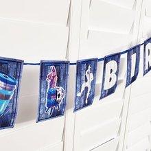 Горячая игра Лут лама овсянка баннер с днем рождения флаг баннеры ребенок день рождения украшения мультфильм аниме бумага вымпел флаги