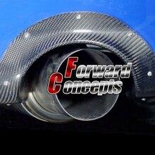 Для углеродного волокна Задний Выхлопной кожух 04-07 Impreza WRX STi