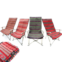 Multifunction Outdoor Picnic Tablecloth Mat Folding Chair Cushion Ethnic Style Blanket Tablecloth Nap Floor Mat with Storage Bag