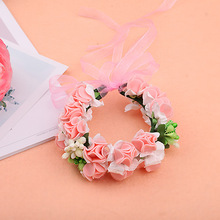 Accessories Wedding Hands Bracelets For Bridesmaids Flower Bracelet Girls Corsages Hand Corsage Flowers Bridal Wristband