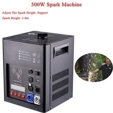 Newest Stage Dj Equipment 500W Spark Machine Support Spark 1-4M Height Adjust For Wedding Stage disco DJ Cold Firework Machine все цены