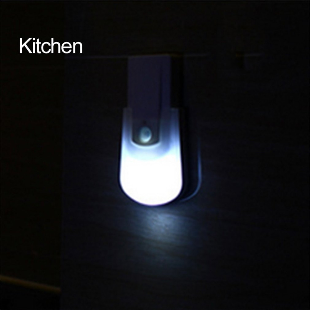 LED Light-operated Body Motion Sensor Activated Wall Lights Night Light Human Induction Lamp Lamps For Corridor Cabinet