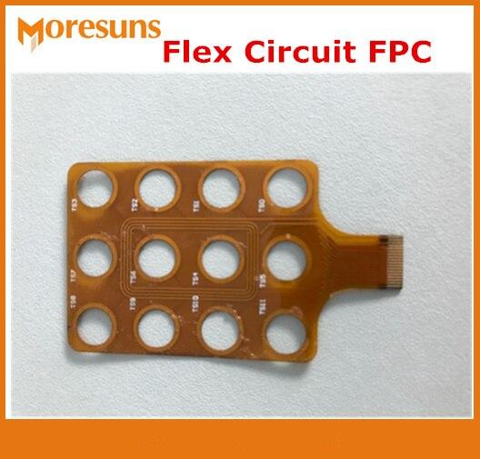 Изготовленная на заказ гибкая печатная плата односторонняя FPC двухсторонняя FPC Полиамид FPC усилитель жесткости FPCB щит FPC кабель