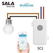 Broadlink SC1 дистанционный переключатель Smart модуль Wi-Fi приложение Беспроводной Интеллектуальный таймер Управление Лер удаленного Управление с помощью IOS смарт-фары дома