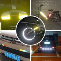 25m Car Reflective Tape Sticker Funny Car Stickers Vinyl Car Wrap Decoration Film Motorcycle Safe Reflect Safety Warning Tape