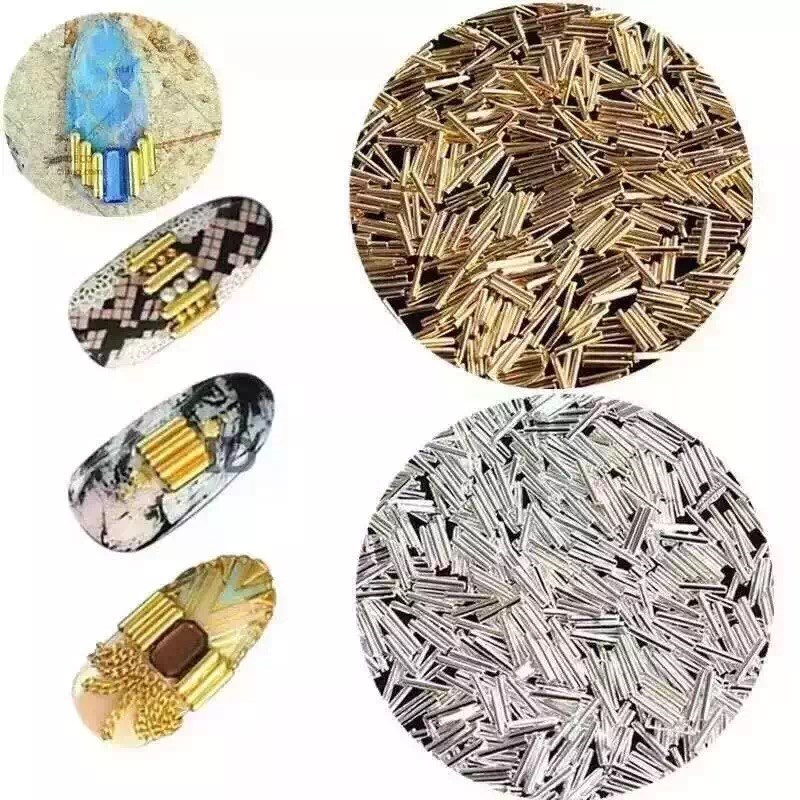 500psc Mixed Alloy Glitter 3D  Nails Art Jewelry Decorations Charms Manicure  Charms 3D Nail Art Decorations JSB001-006 4 pin on off rocker switches with green light indicator 5 piece pack