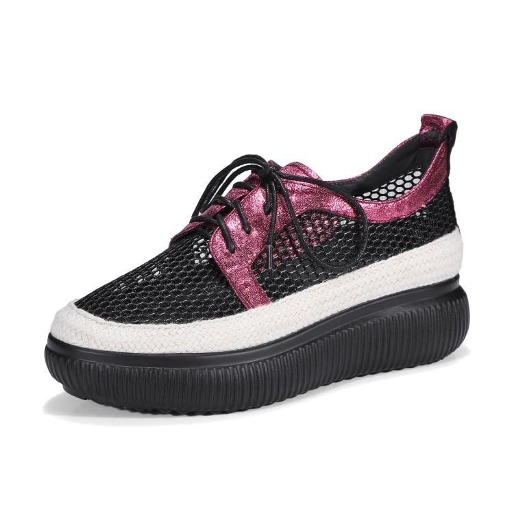Planos Plataforma Nuevo Ocasionales Transpirables Mujeres Gris Cómodos Deporte vino Mujer Zapatillas De Mocasines 2018 Tinto {zorssar} Verano Zapatos xR5cpqzYwS