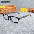 2016 marca de moda retro para homens e mulheres óculos de armação 5206 Antolhos óculos de computador miopia vidros ópticos oculos de grau