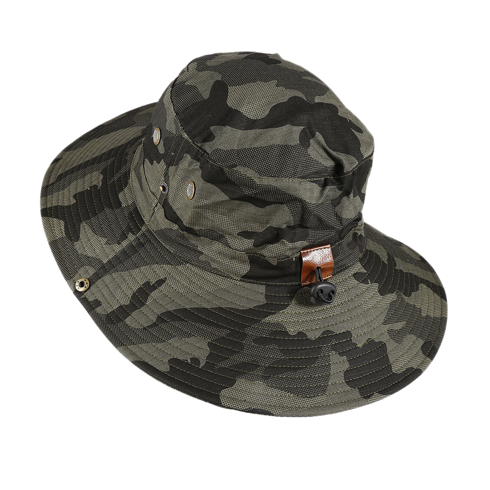 01821669ad9 Augbistue Colorful Camouflage Boonie Hat New Bush Safari Hiking Boating  Snap Brim Hat Sun Cap Sports Fishing Outdoor Hiking Cap!-in Hiking Caps  from Sports ...