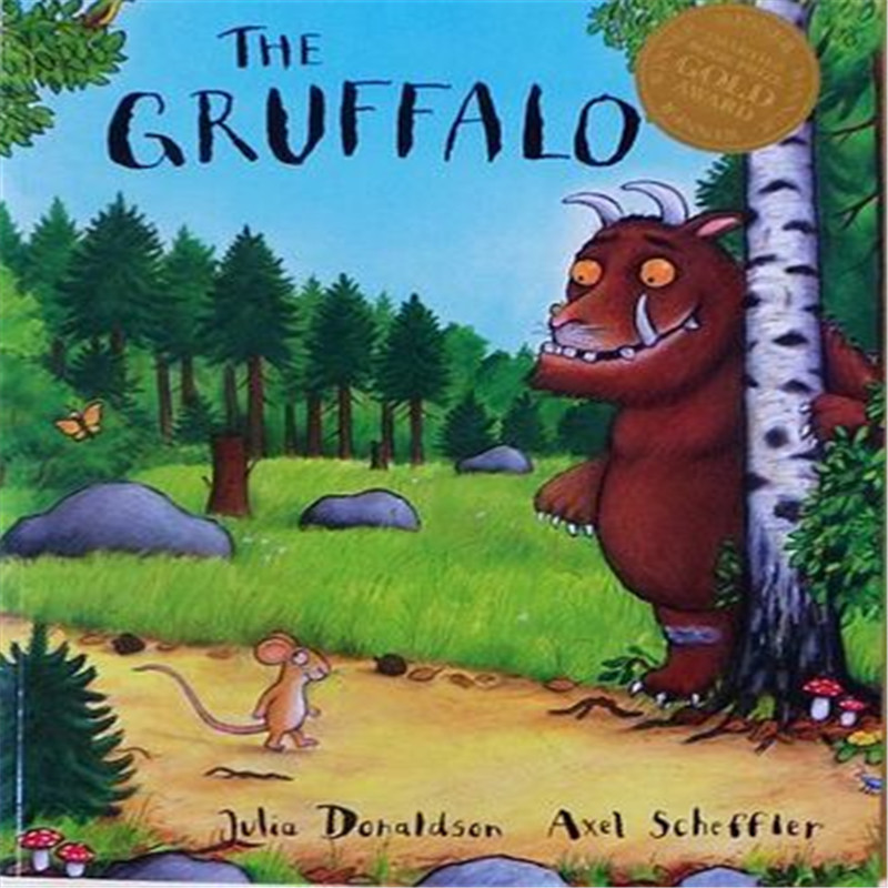 Free Shipping english picture book for children The Gruffalo learning books for baby my first gruffalo who lives here lift the flap