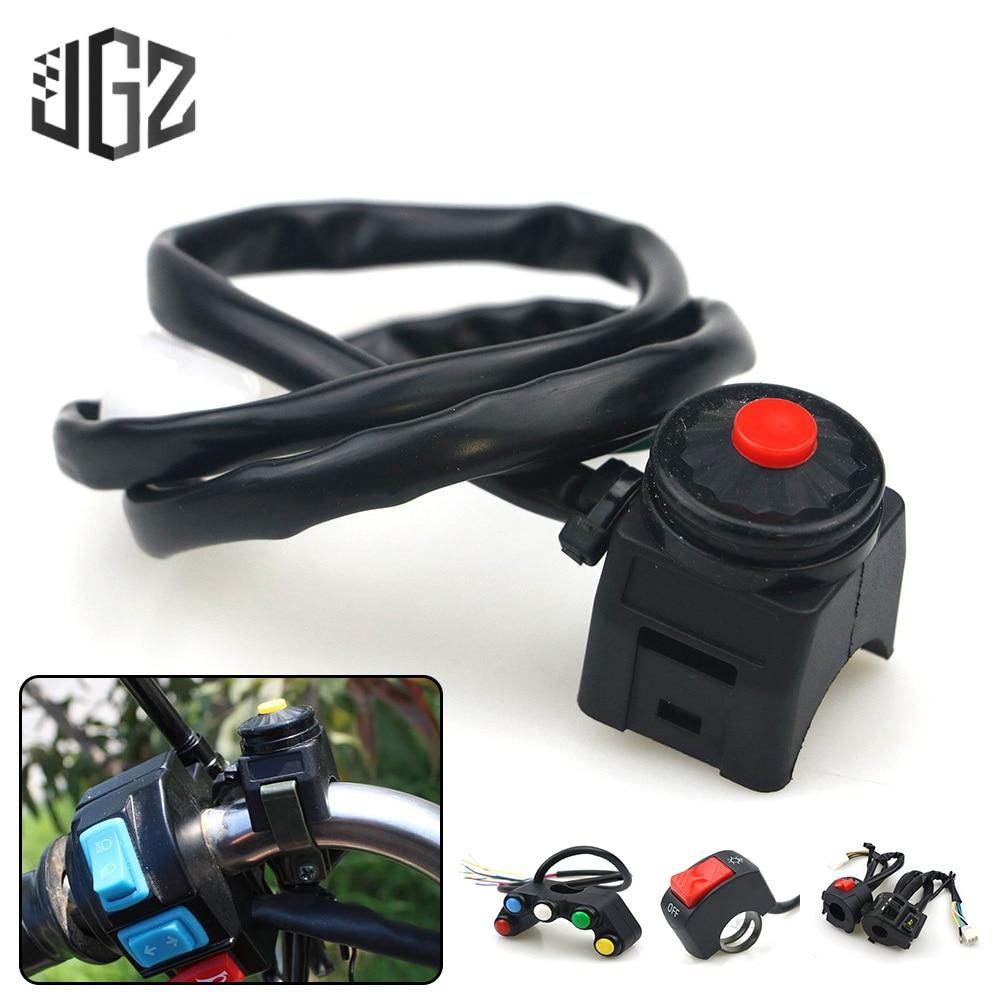 Универсальные ВКЛ-ВЫКЛ переключатели 22 мм для мотоцикла, для мотоцикла, для мотокросса, для грязи, для велосипеда, контроллер, кнопки, аксесс...