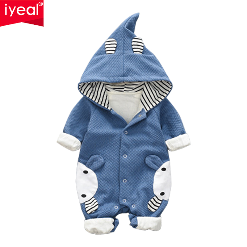 IYEAL Newest 2018 Spring Autumn Baby Rompers Cute Cartoon Rabbit Toddler Infant Girl Boy Jumpsuit Kids Baby Outfits Clothes toddler baby cactus romper infant girl boy cute cotton clothes rompers jumpsuit playsuit outfits