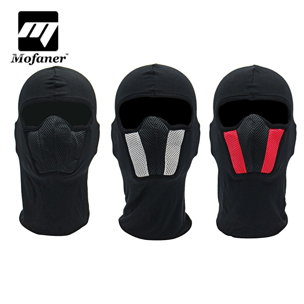 Windproof Motorbike Bicycle Warmer Face Mask Balaclava Outdoors Cycling Ski Face Mask Breathable Motorcycle Helmet Hood купить недорого в Москве
