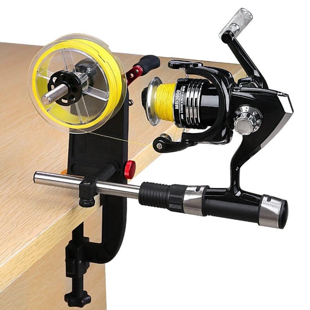 PLUSINNO Multifunções portátil Linha De Pesca Spooler Spool Baitcasting Reel Spooler Enrolador De Linha De Pesca frete grátis