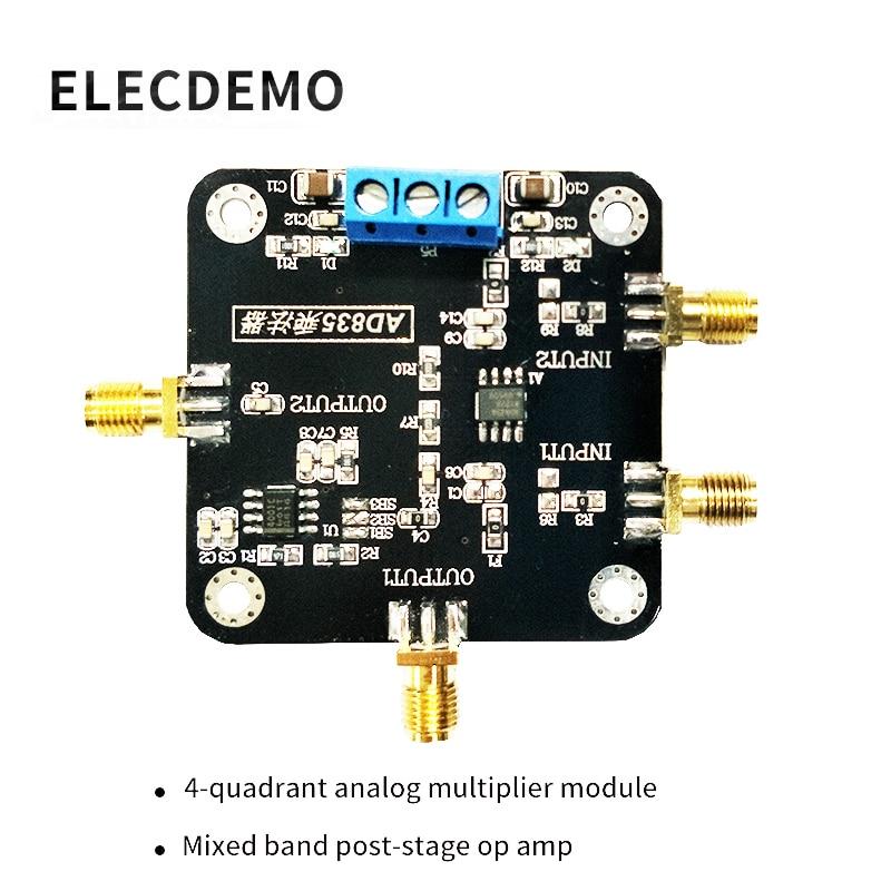 Ad835 Modul Multiplier Modul Ad835 Mischen Breitband Modem Mit Post-bühne Op Amp 4 Quadranten Analog Multiplier Klar Und GroßArtig In Der Art