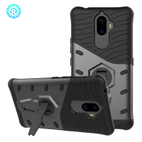 R For Lenovo K8 Note Case Shockproof 360 Degree Rotation Kiskstand K8 Cover TPU PC Silicone