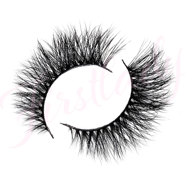 Free shipping 3d luxury 100% real mink strip lashes sydney famous lashes natural long soft mink lashes