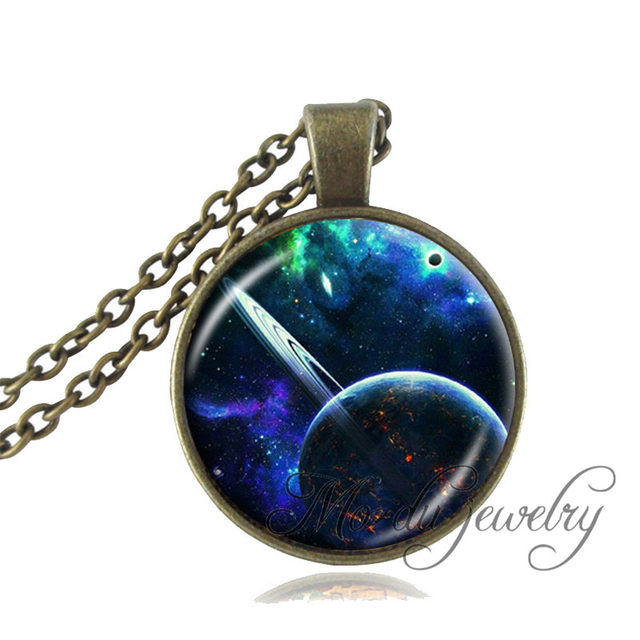 12fdf14a778d1 Purple Pink Black Galaxy Necklace Star Cluster,Space,Universe,Nebula  Jewelry Glass Dome Planet Pendant Galaxy Choker Necklace