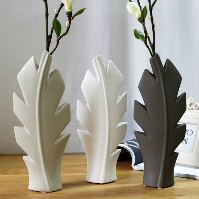 Creative Ceramic Simple Modern Flower Vase Tree Floral