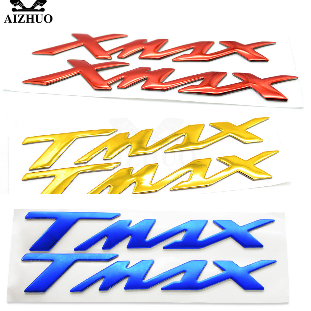 For YAMAHA T-MAX 530 T-MAX 500 TMAX 530 TMAX 500 T MAX 530 XMAX Motorcycle Tank Sticker Tank Pad Protector Decal Skull Sticker