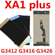 For Sony Xperia XA1 Plus Display G3412 G3416 G3426 G3412 G3421 LCD Screen Touch Glass Digitizer Assembly цена и фото