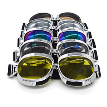 2017 Motorcycle Goggles Retro Motocross Goggles Motorcycle Google Offroad Eyewear Gafas Motocross Sunglasses